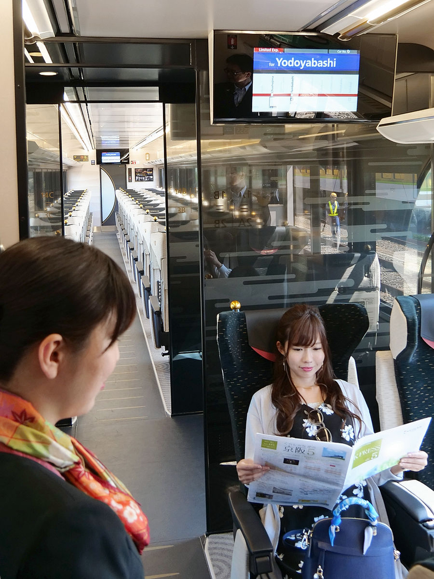 【守口門真】京阪電車の初有料座席車両『プレミアムカー』が ...