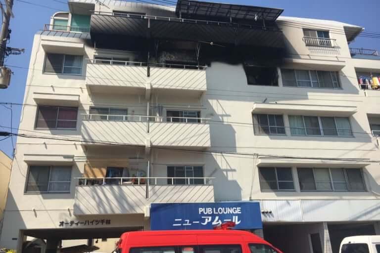 大阪市旭区火災