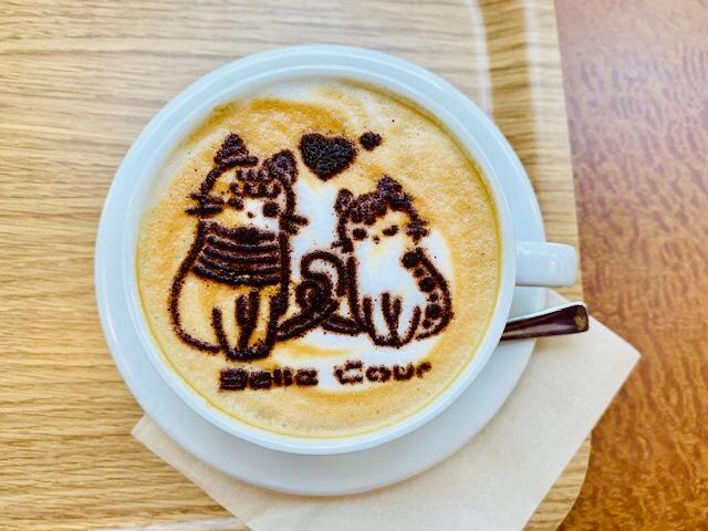 【守口市】可愛いカプチーノアートのカフェがオープンしてる!守口市駅からすぐ、美味しいホットサンドもおすすめ☆