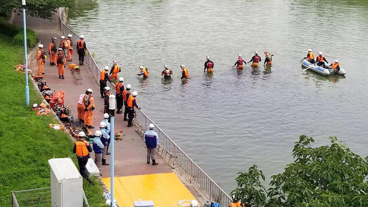 【守口市】人が池に飛び込んだとの情報、2019年7月2日(火)隣の旭区ですが『城北公園』で水難事故が発生した模様です