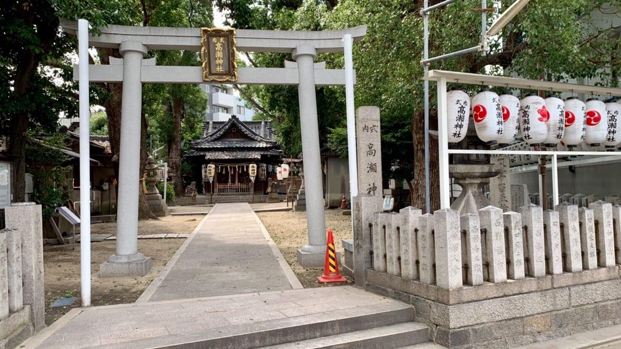 神社の夏祭り