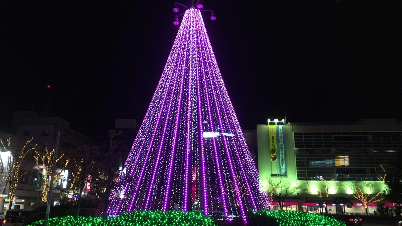 古川橋駅イルミネーション