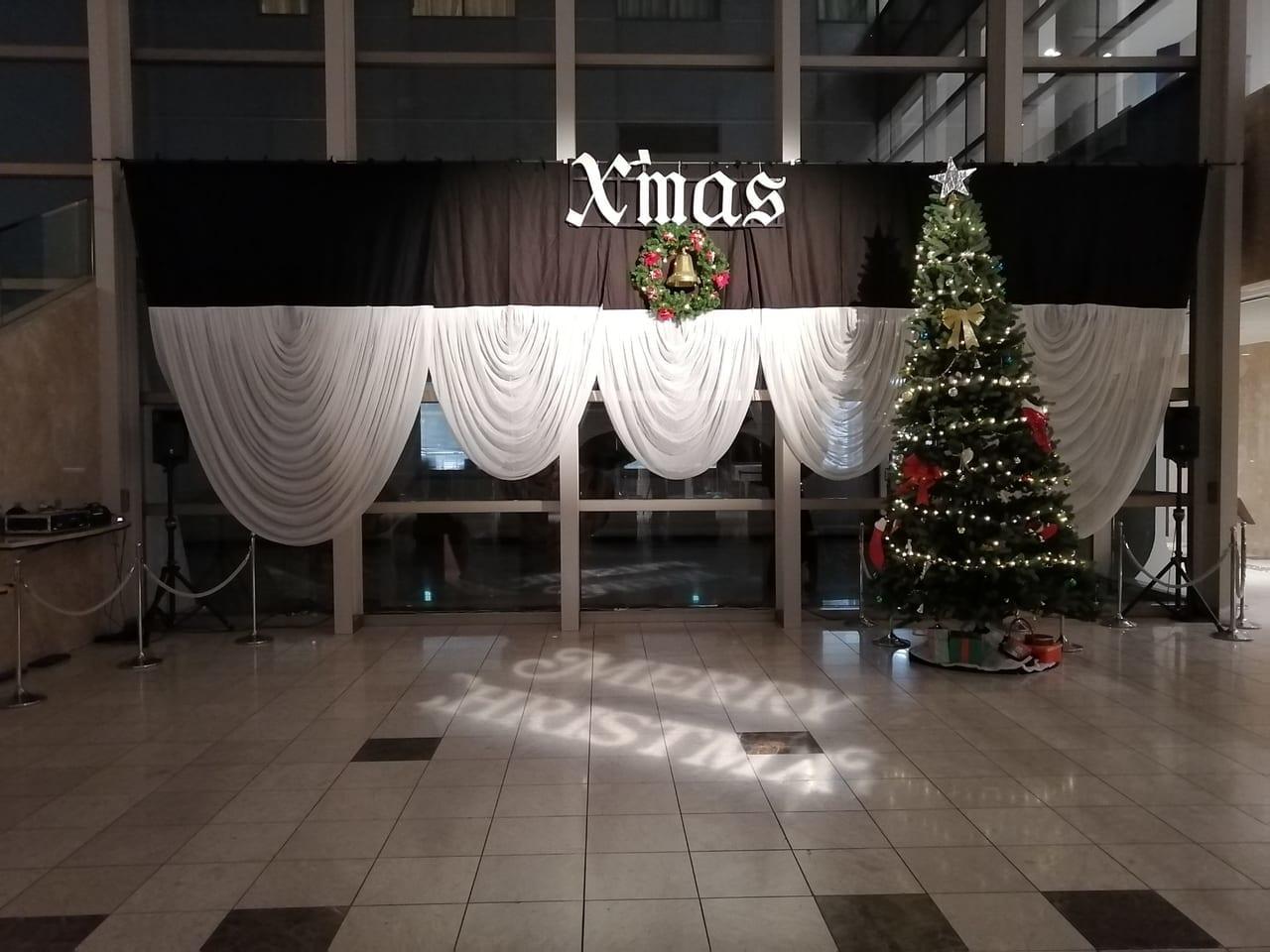 ルミエールホールクリスマスツリー